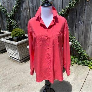 BURBERRY (Burberrys) Vintage Silk Blouse Size 8